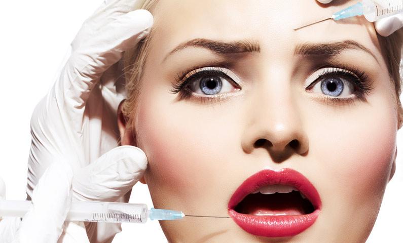 در چه نواحی از صورت تزریق بوتاکس بیشتر توصیه می شود ؟